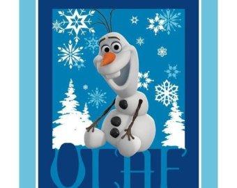 DISNEY OLAF FROZEN  PANEL 14288