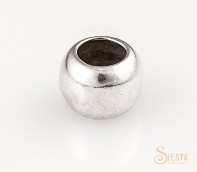 SIESTA STERLING 8MM SPACER BEAD