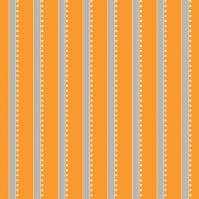 Bree Orange Stripe