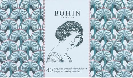 Bohin Blue Solange Sewing Needle Book