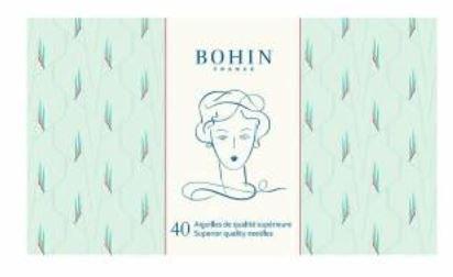 Bohin Green Edwige Sewing Needle Book