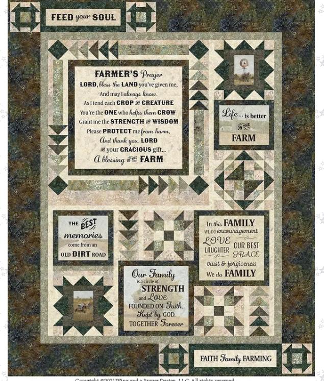 Farmers Prayer Kit 60x74