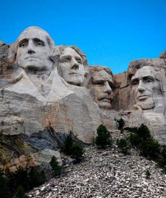 Mount Rushmore Panel