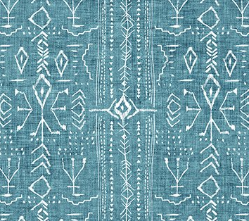 Forest Fable Stripe Markings Teal