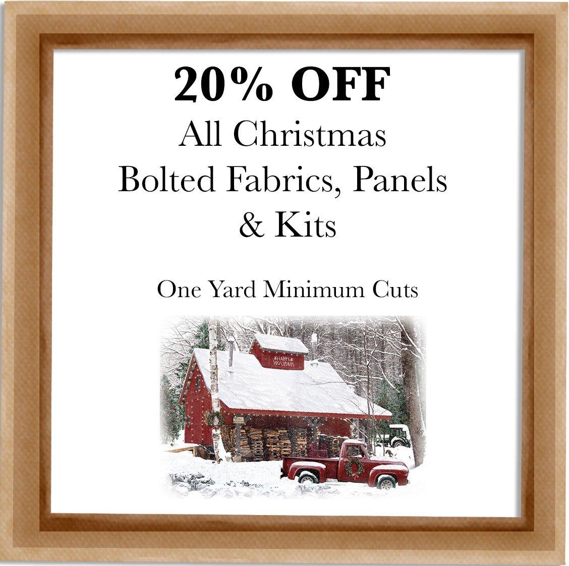 Christmas Fabric Sale