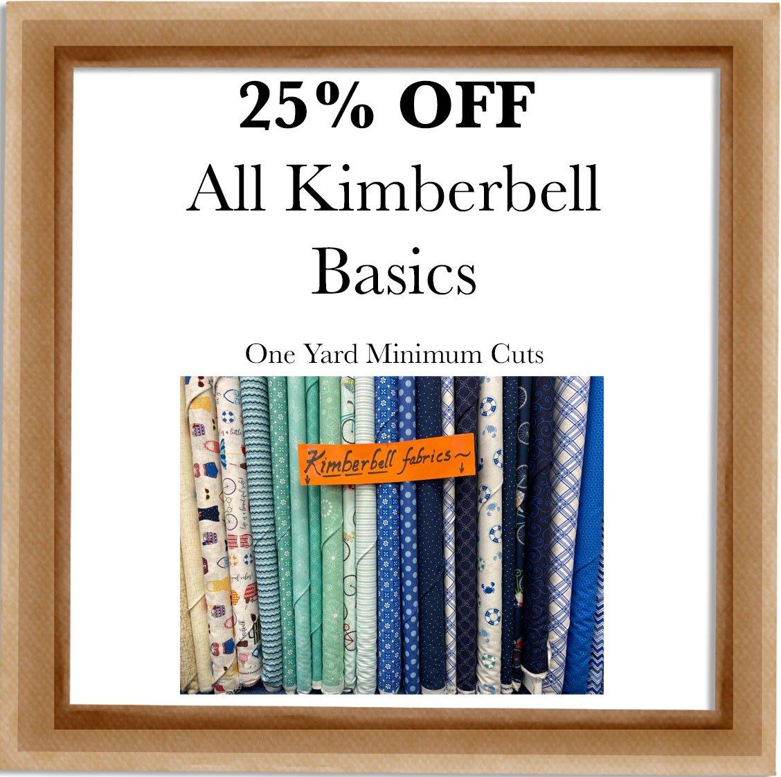 Kimberbell Basics Sale