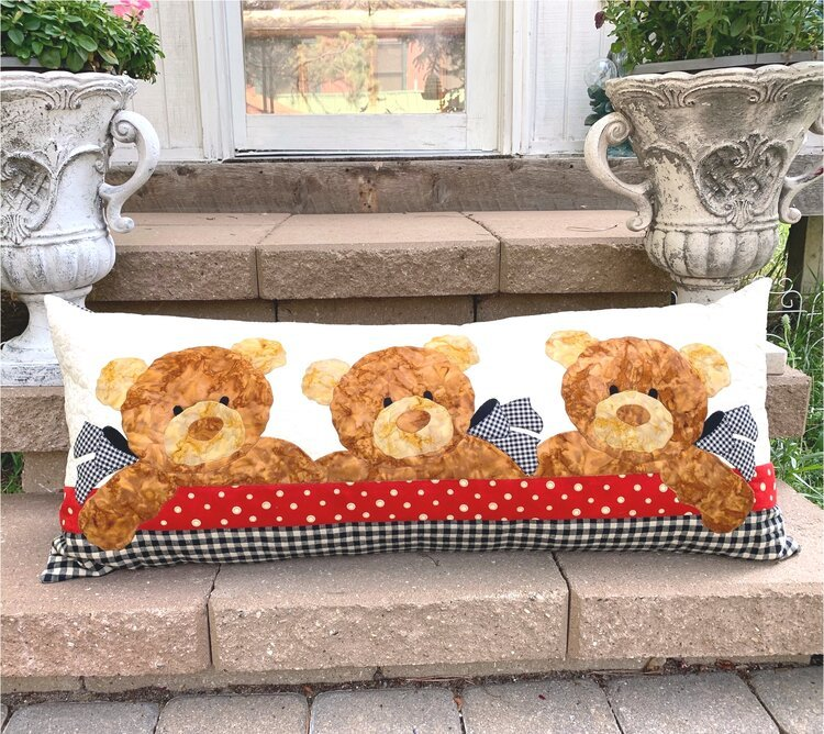 Teddy Bear Daycare Pillow Kit