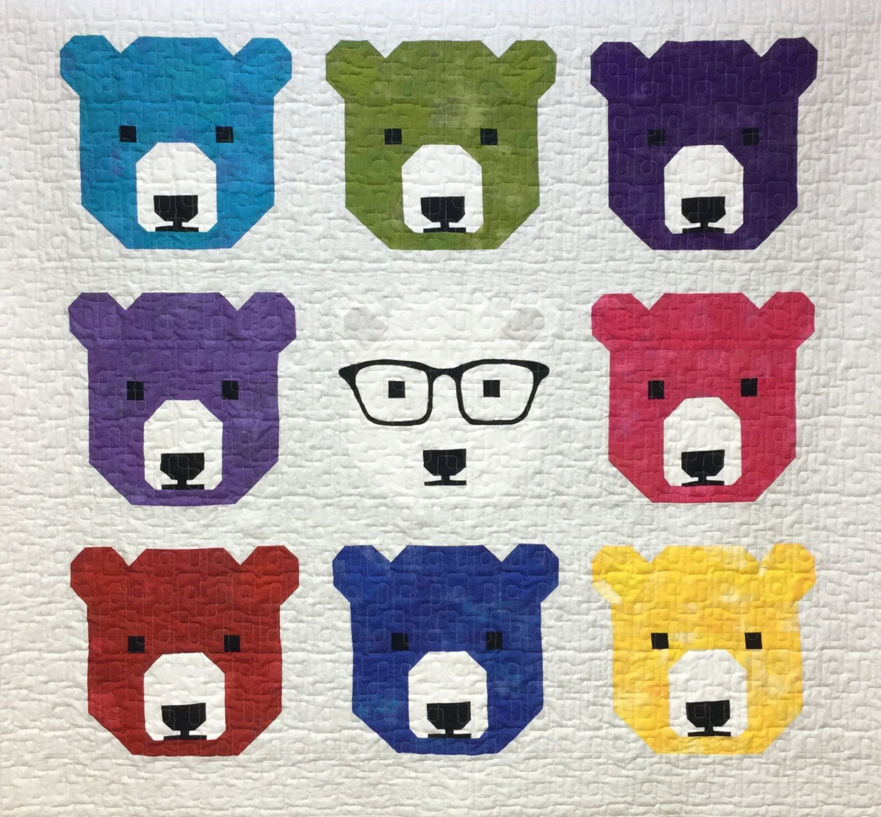 Bjorn Bear Quilt Kit