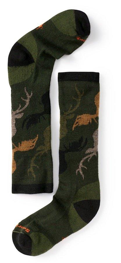Smartwool Kid's Wintersport Camo Socks