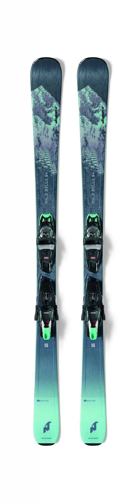 2022 Nordica Wild Belle 84 w/ Marker TP2 Light 11 Women's Ski Package