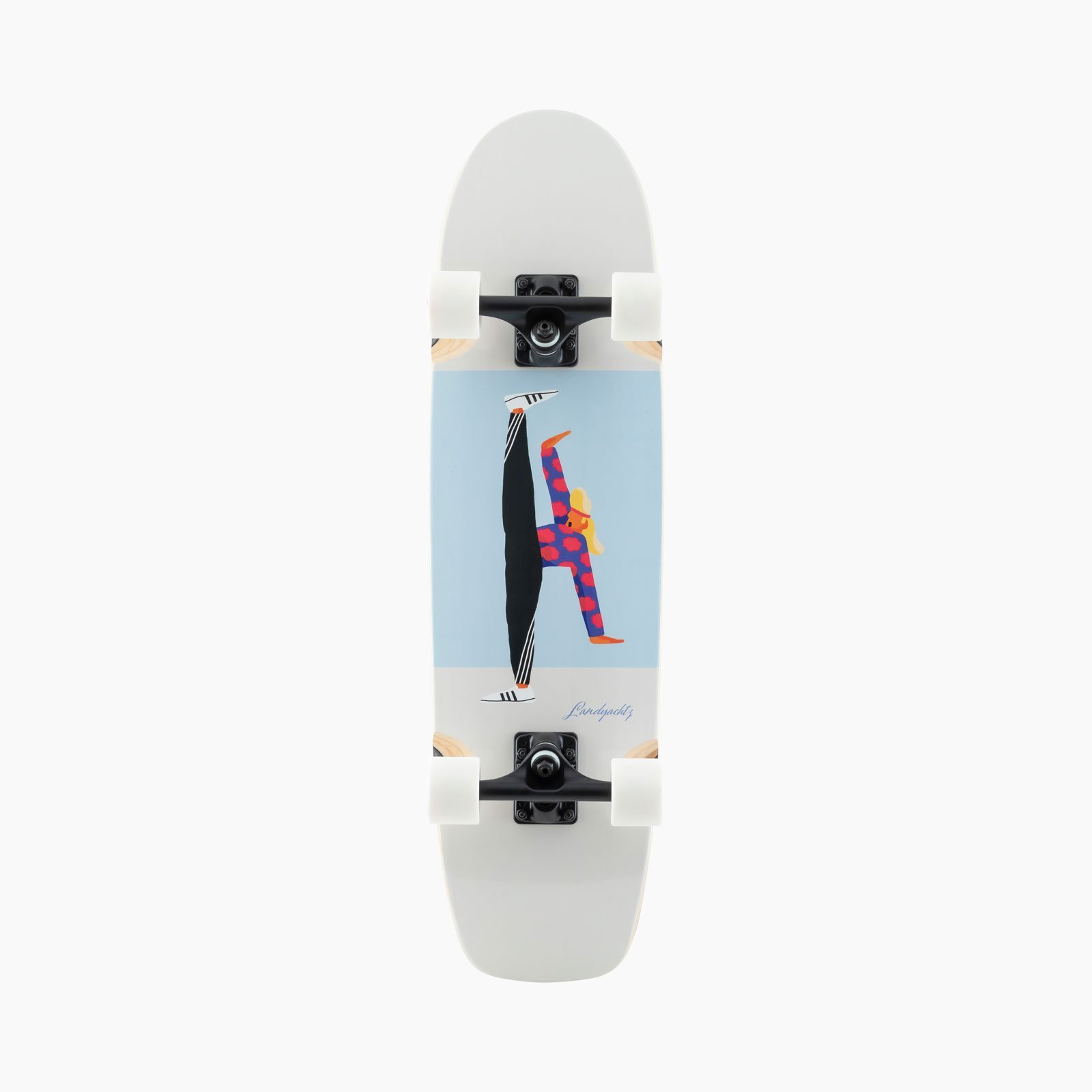 Landyachtz ATV Slim Jim High Kick Complete Skateboard