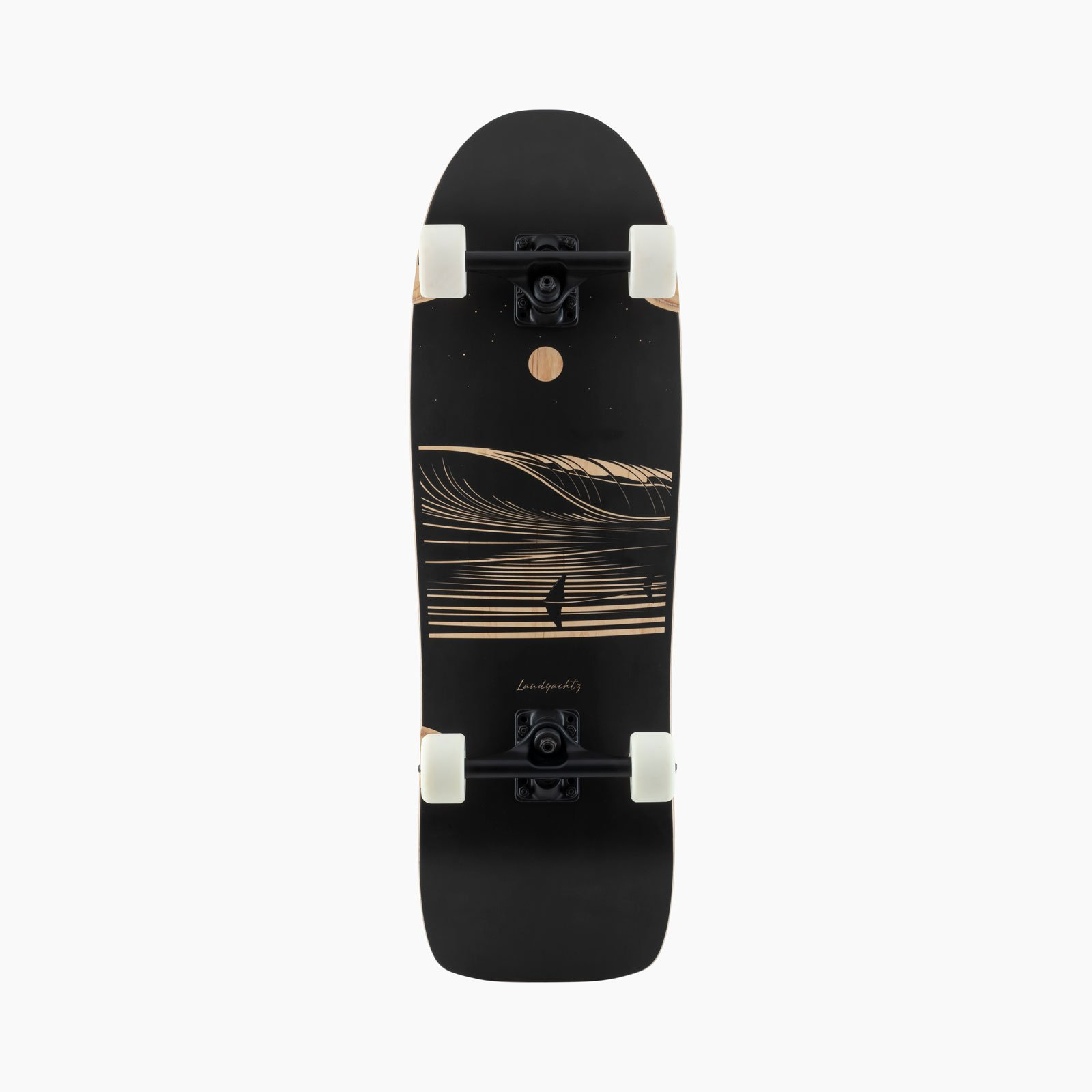 Landyachtz ATV Ditch Life Dark Wave Skateboard Complete