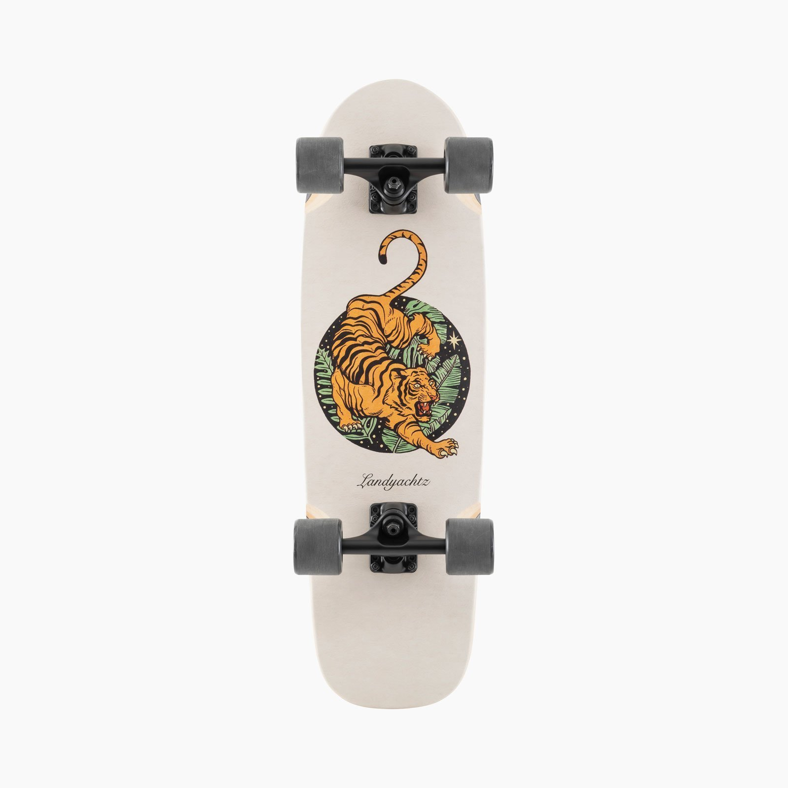 Landyachtz Dinghy Blunt Fender Paper Tiger Skateboard Complete