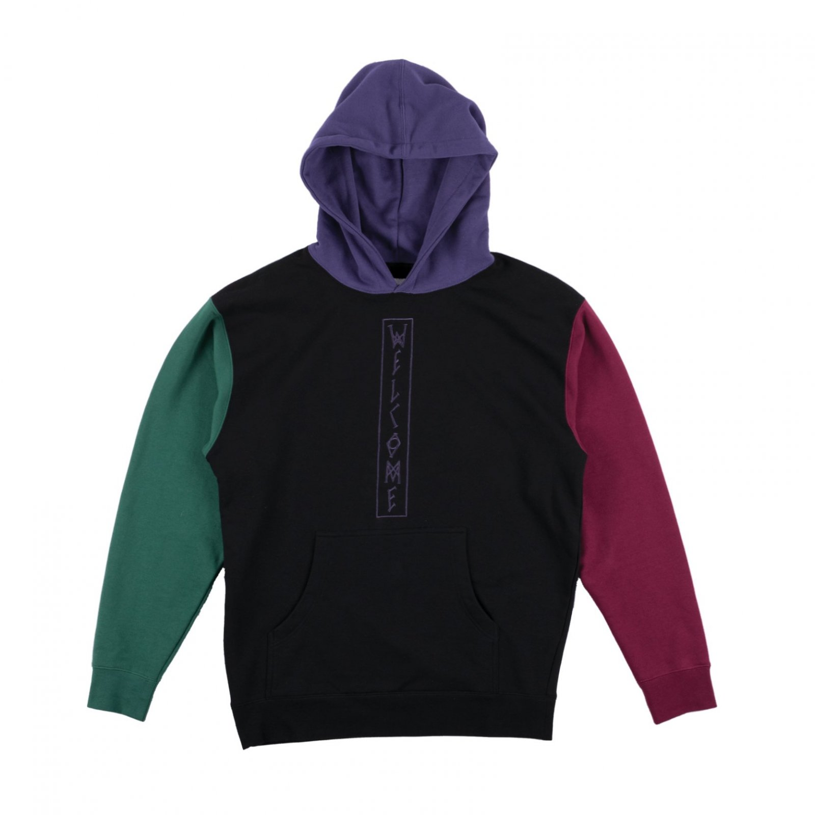 Welcome Blocked French Terry Hoodie