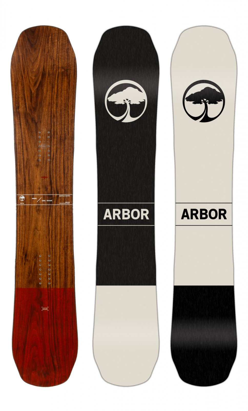 2020 Arbor Coda Rocker Men's Snowboard
