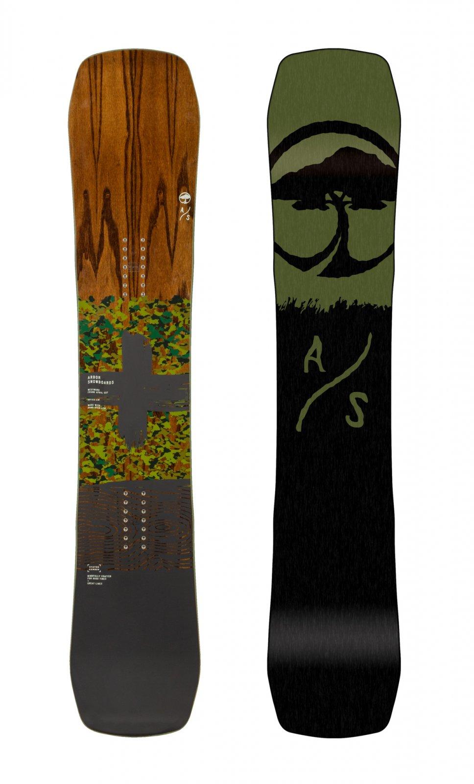 2020 Arbor Westmark Camber Frank April Edition Men's Snowboard