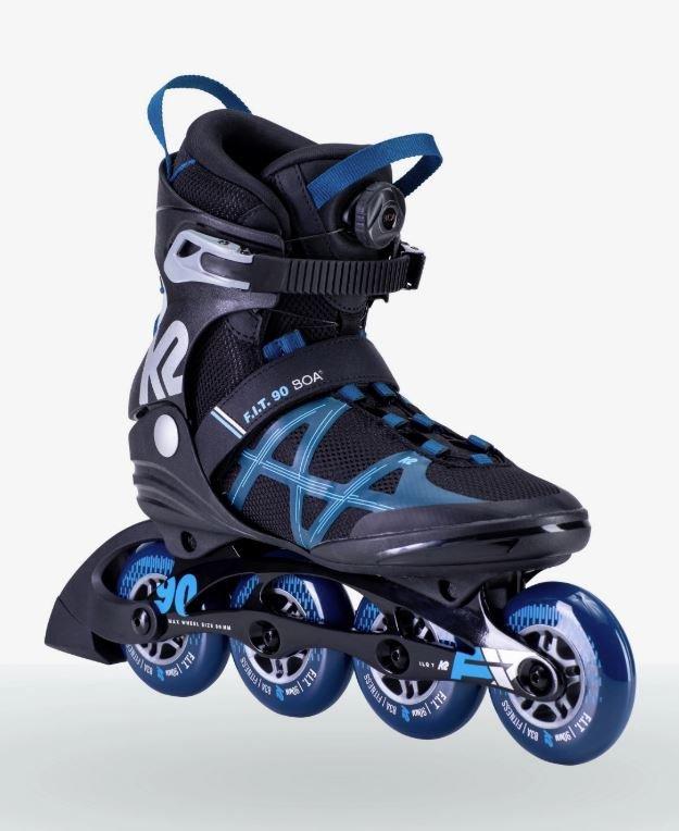 2021 K2 F.I.T. 90 BOA Men's Inline Skates