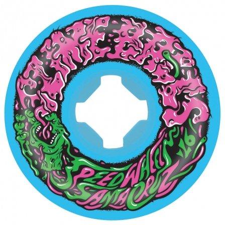 Santa Cruz Slime Balls 53mm Vomit Mini II 97a Skateboard Wheels