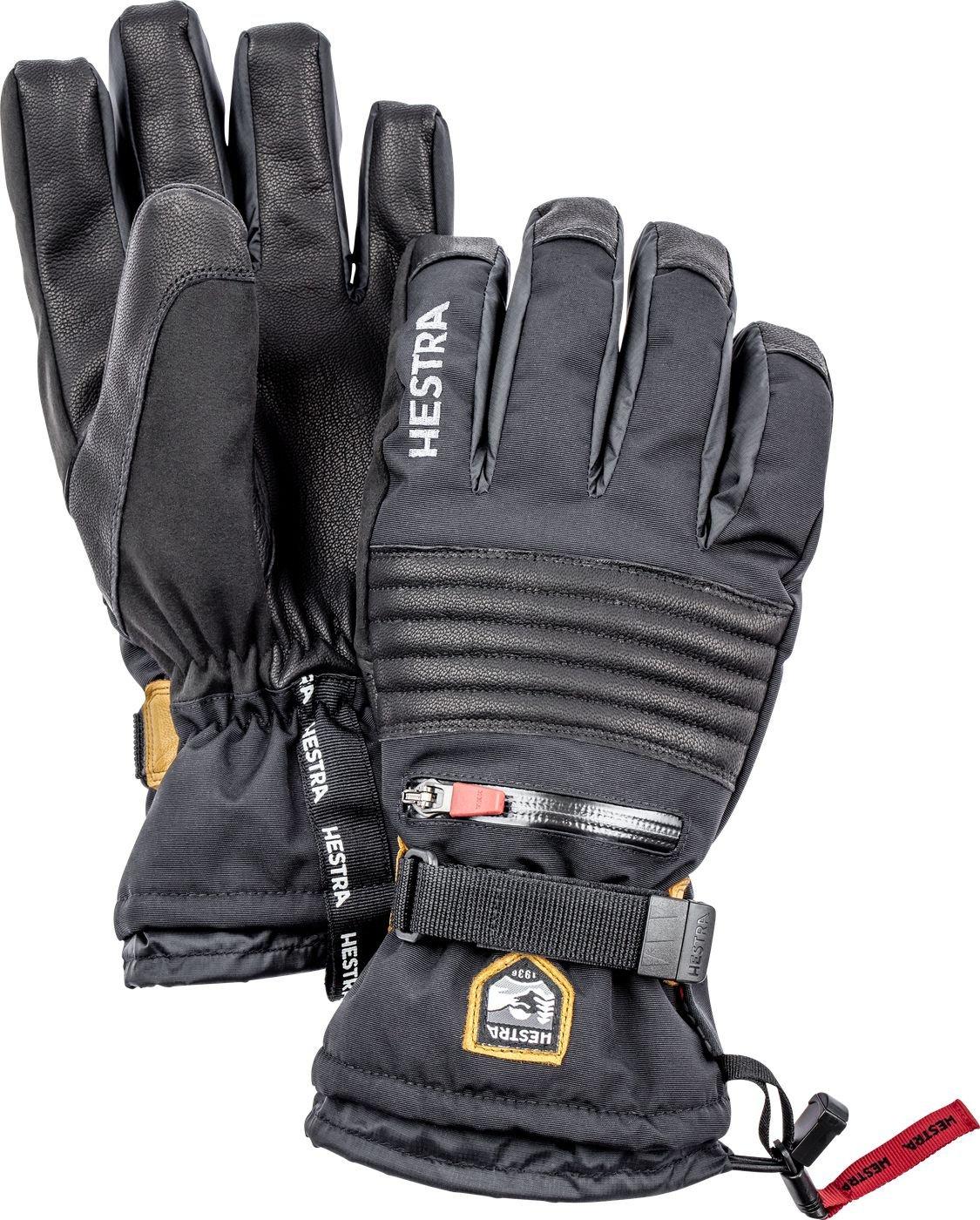 Hestra All Mountain Czone 5 Finger Glove - Black