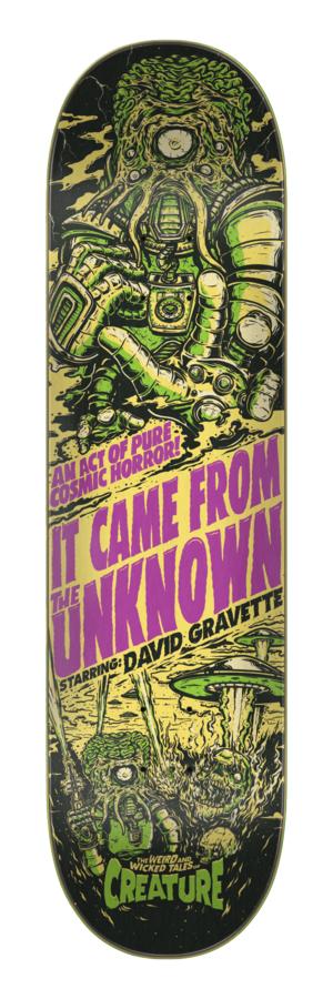Creature Gravette Wicked Tales 8.3 x 32.2 Skateboard Deck