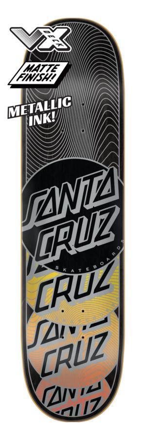 Santa Cruz Transcend Stack VX 8.0 x 31.6 Skateboard Deck