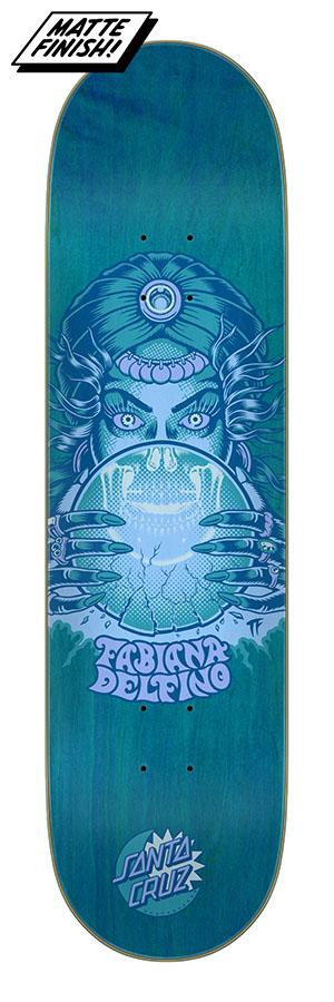 Santa Cruz Delfino Fortune Teller 8.25 x 31.83 Skateboard Deck