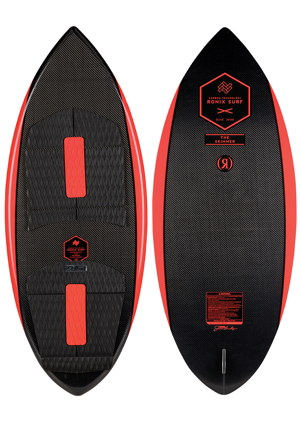 2019 Ronix Carbon Air Core 3 Skimmer Wakesurf Board