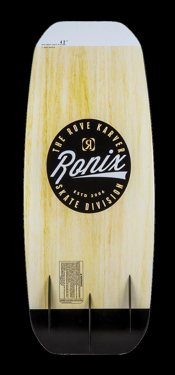 2020 Ronix Rove Karver Wakeskate Board