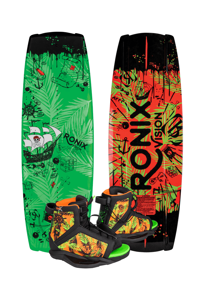 2019 Ronix Vision Wakeboard w/ Vision Wakeboard Boots