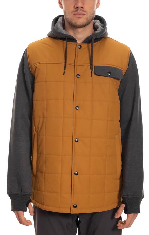 686 Men's Bedwin Insulated Jacket - Goolden Brown