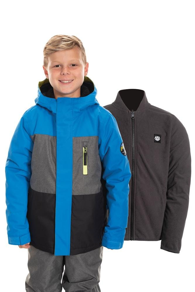 686 Boy's SMARTY 3-in-1 Insulated jacket