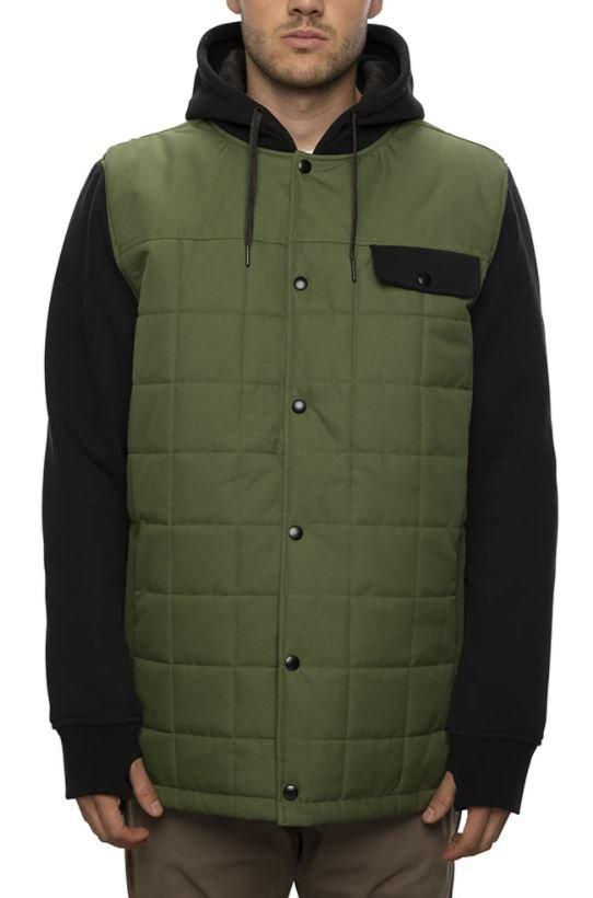 686 Men's Bedwin Insulated Jacket - Surplus Green