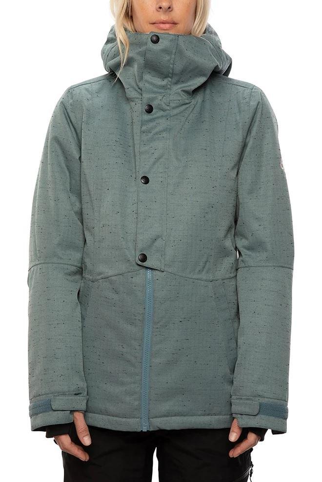 686 Women's Rumor Insulated Jacket - Goblin Blue Slub