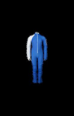 POC Skin GS Jr Race Suit - Blue / Hydrogen White