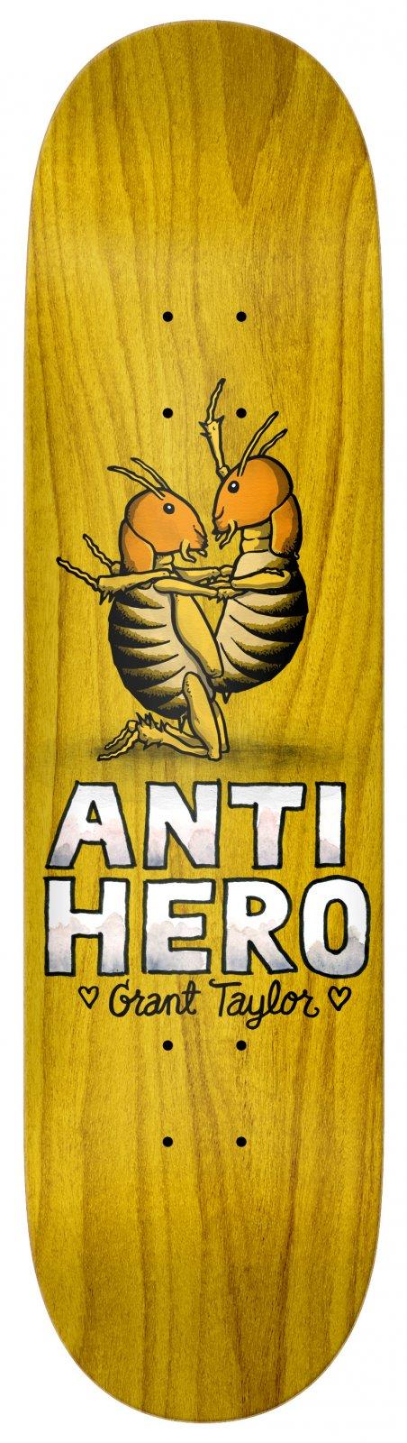 Anti Hero Grant Taylor For Lovers II 8.12 x 31.38 Skateboard Deck