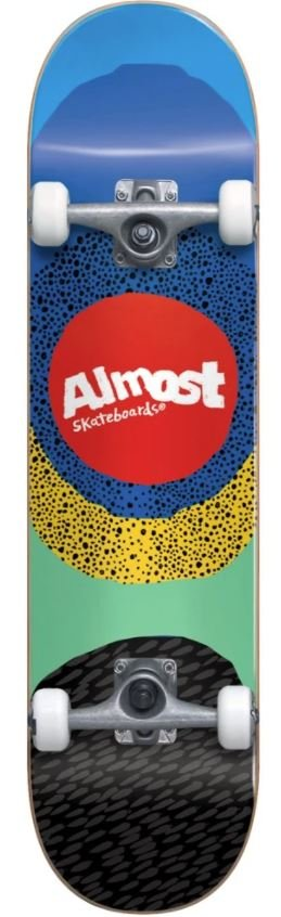 Almost Radiate First Push Blue 8.25 x 32.0 Complete Skateboard