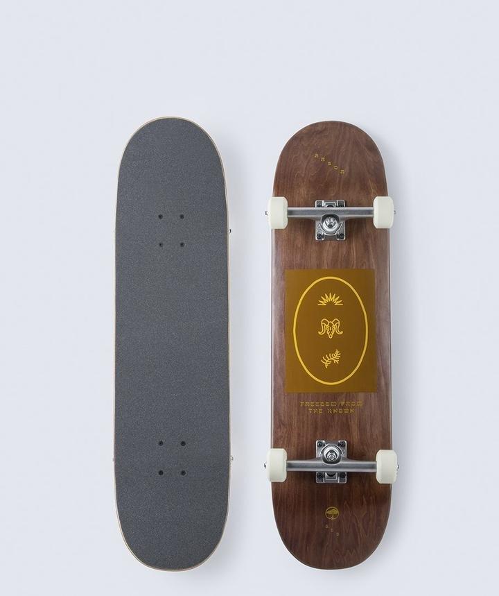 Arbor Recruit Whiskey 8.5 x 32.25 Skateboard Complete