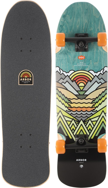 Arbor Martillo Artist Complete Skateboard