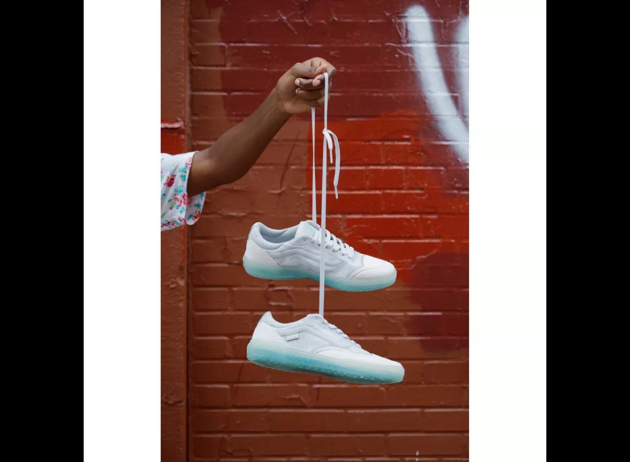 Vans AVE Pro - (Beatrice Domond) Bone / Jade Men's Shoes
