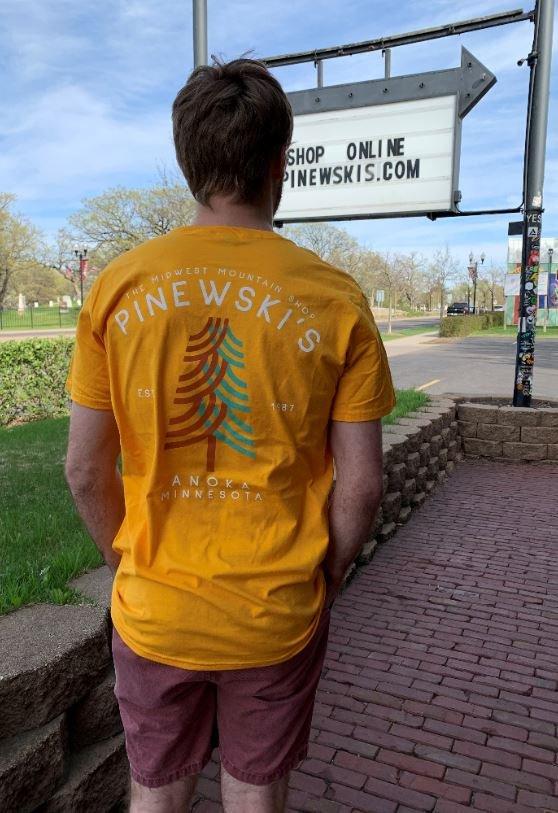 Pinewski's Shop Tee - Midwest Mountain Shop