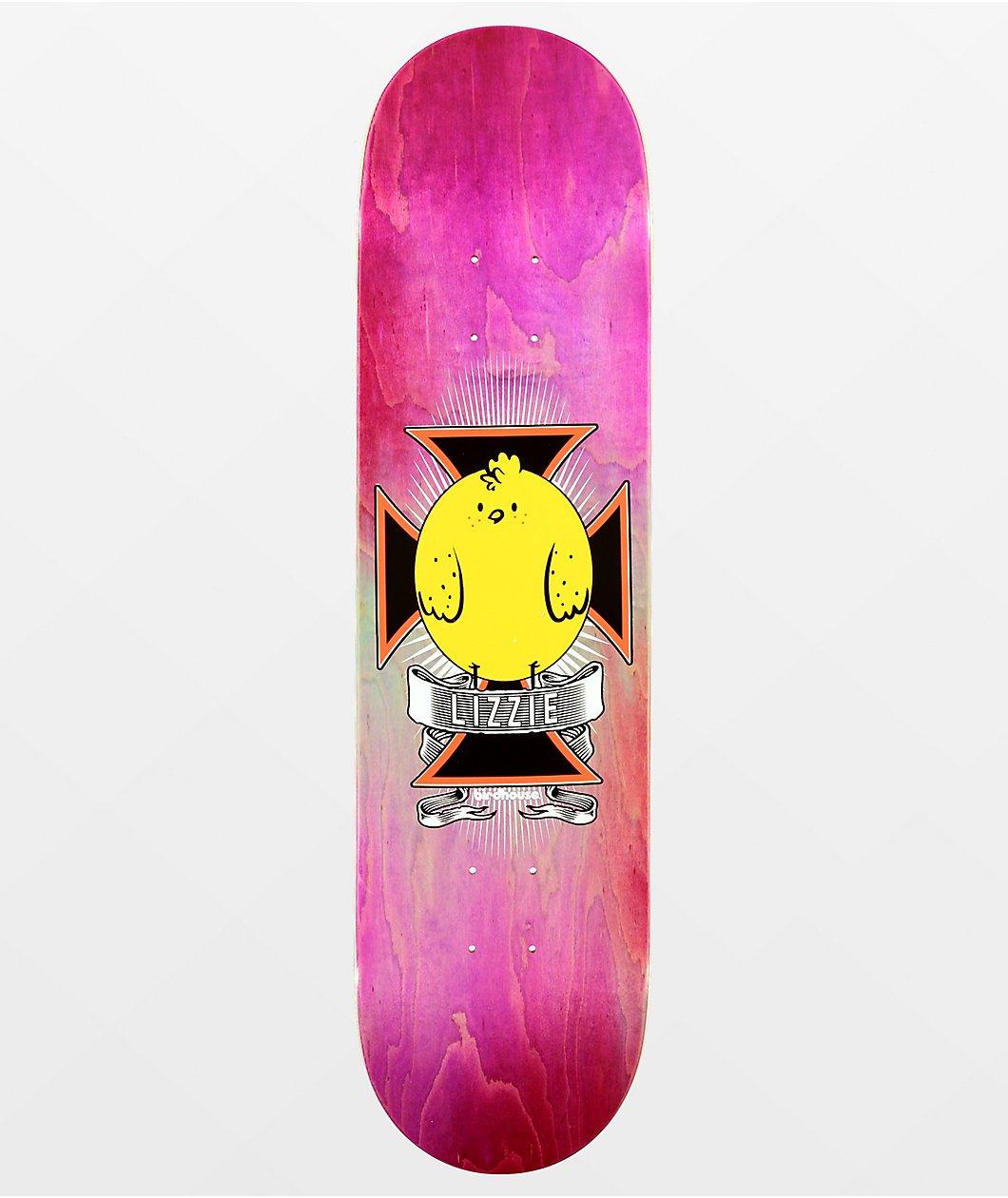 Birdhouse Lizzie Chickpea 8.0 x 31.75 Skateboard Deck