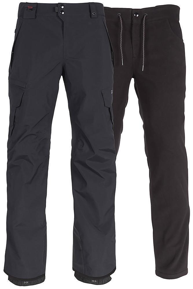 686 Men's SMARTY 3-in-1 Cargo Pant - Black