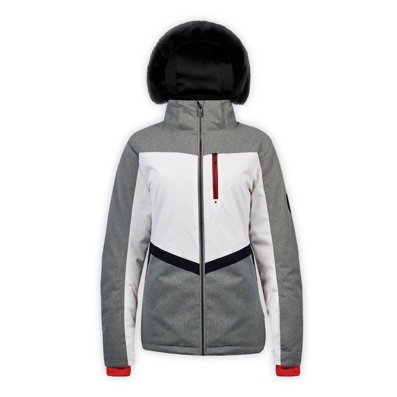 Boulder Gear Women's Amor jacket - Heathered Gray