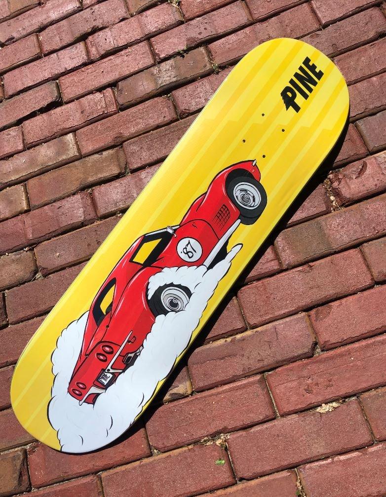 Pinewski's Skateboard Deck