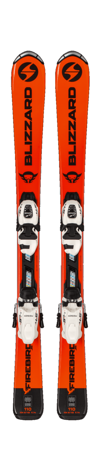 2020 Blizzard Firebird Jr Youth Skis w/ FDT 7.0 Bindings