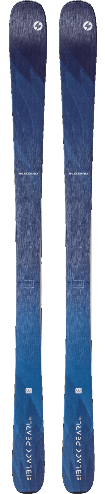 2020 Blizzard Black Peral 88 Women's Ski