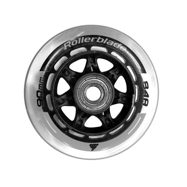 Rollerblade 90mm/84a Wheels + SG9 Bearings (8-pack)