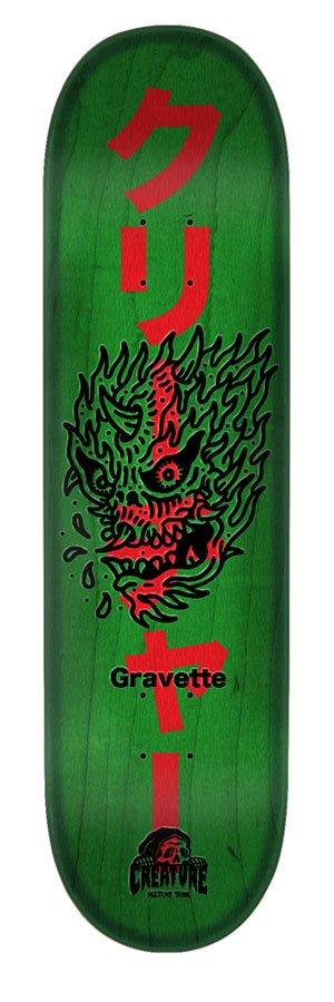 Creature Sketchy Demons Gravette Skateboard Deck 8.2