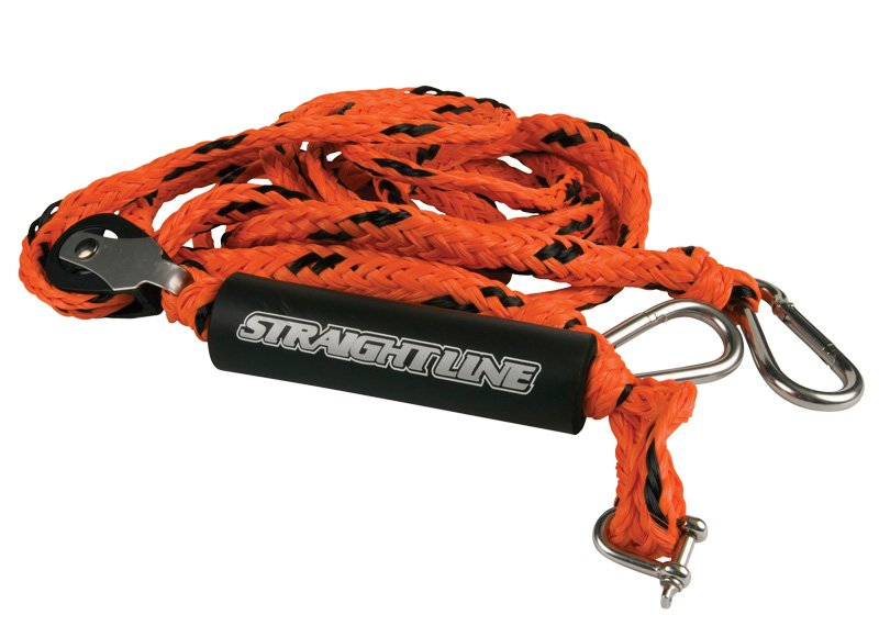 Straight Line Deluxe 12' Heavy Duty Tow Rope Roller Harness