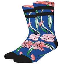 Stance Waipoua Blue Socks